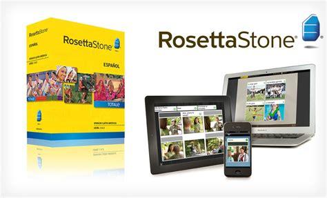 rosetta stone version 4 groupon rosetta stone version 4 totale level 1 2 language
