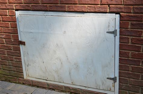crawl space door crawl space door before at home with the barkers