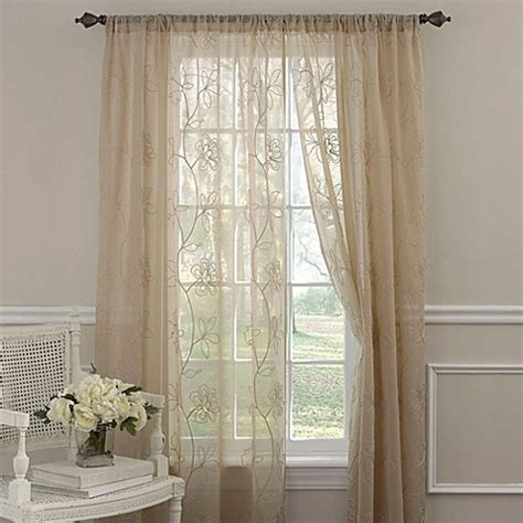 laura ashley frosting curtains buy laura ashley 174 frosting 63 inch window curtain panel in