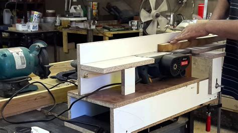bench hand joiner diy bench top jointer youtube