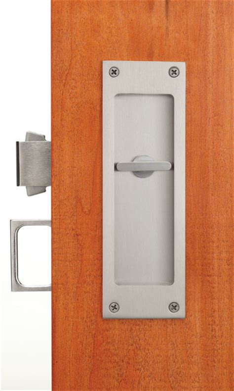 pocket door locks and flush pulls pocket