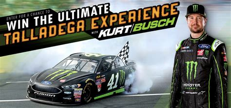 Monster Energy Sweepstakes - monster energy ultimate kurt busch talladega experience sweepstakes familysavings