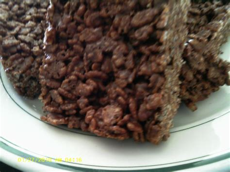 rice crispy bars with chocolate on top rice krispie chocolate bars recipe food com