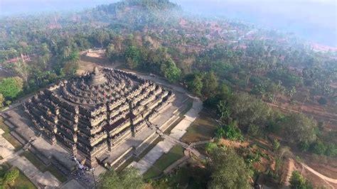 Drone Yogyakarta borobudur temple aerial videography drone dji inspireone candi borobudur