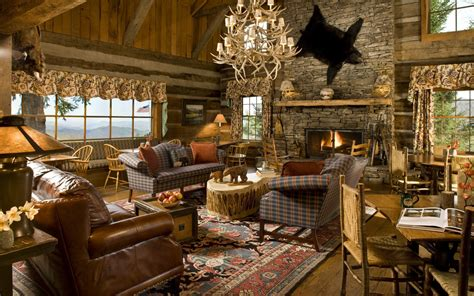 rustic cabin home decor rustic modern living room decor and design ideas