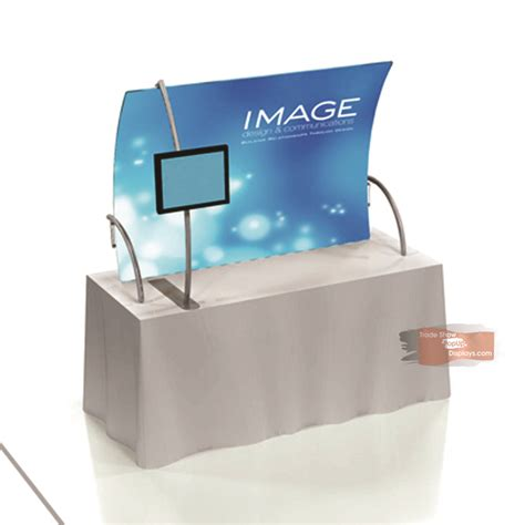 Table Top Display by Table Top Trade Show Display With Tv Mount Tensionlite