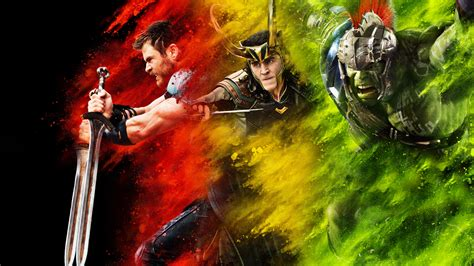 thor ragnarok film loki thor ragnarok full hd wallpaper and background image