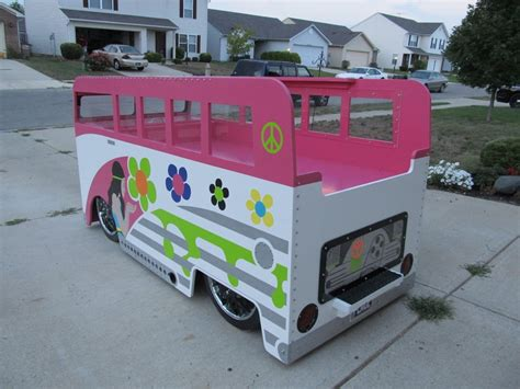 hippie van bed hippie chick vw bus twin bed