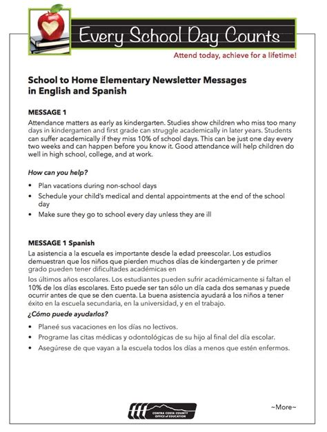 10 Images About Attendance Awareness Month On Pinterest Student Centered Resources Classroom Student Attendance Contract Template