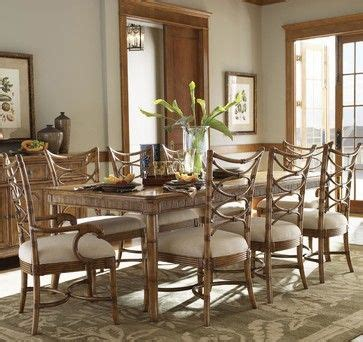 rattan chair dining tropical style tim voi google