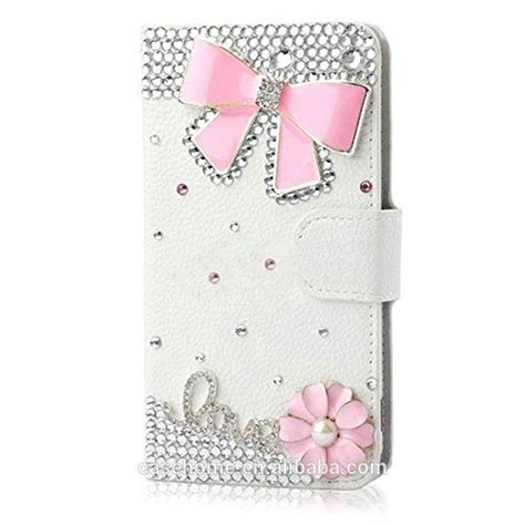 Bateraibattery Samsung Galaxy J2 Original Oem bling diamonds leather stand flip cover for
