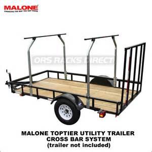 malone toptier utility trailer crossbars system mpg 493