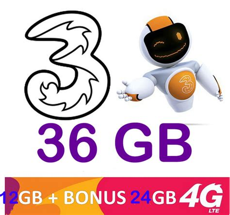 Perdana Tri Boms Three Boms 3g 4g paket 3 tri murah 36gb hanya 100rb id files