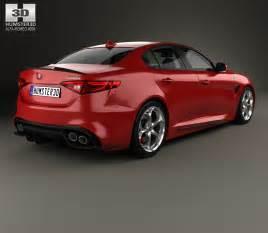 Alfa Romeo Models Alfa Romeo Giulia Quadrifoglio With Hq Interior 2016 3d