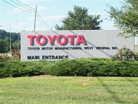 toyota usa phone number toyota motor manufacturing west virginia 1 sugar maple