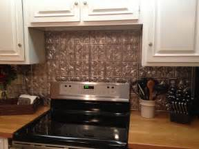 How To Apply Backsplash In Kitchen Kitchen Cool Faux Tin Backsplash How To Apply Faux Tin