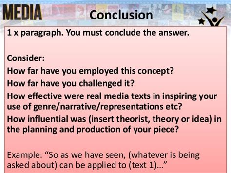 concluding musical section how to end a narrative essay