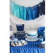 25  Best Ideas About Blue Party Decorations On Pinterest