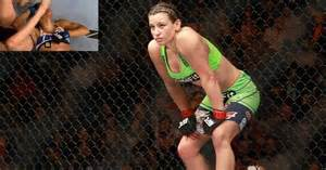 miesha tate revealed she doubled on sports bra