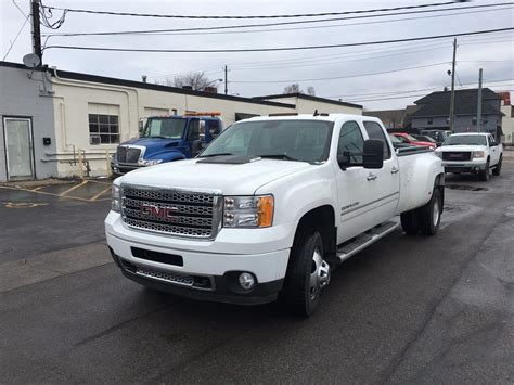 3500 gmc for sale 2013 gmc denali 3500 4 4 crew cab dually diesel for