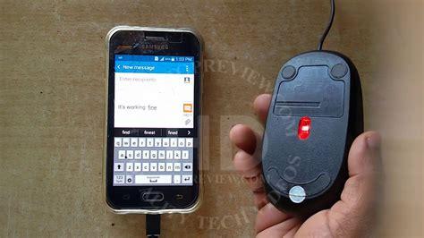 Usb Otg Samsung Ace 3 samsung galaxy j1 ace otg test with usb mouse j1 otg