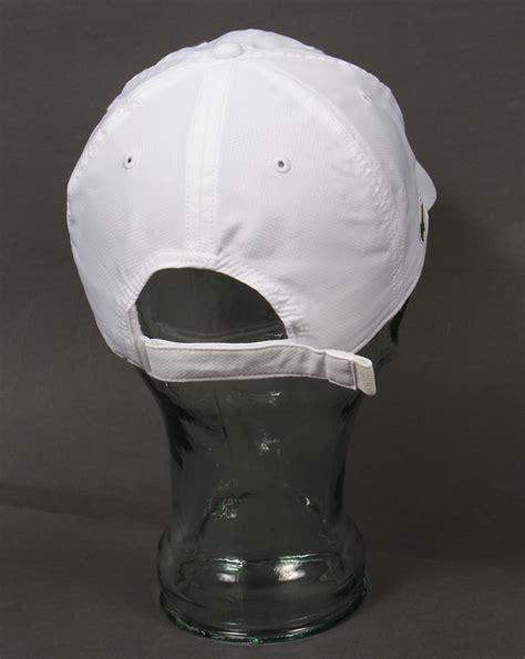 Lacoste Baseball Cap In White lacoste sport cap white baseball mens