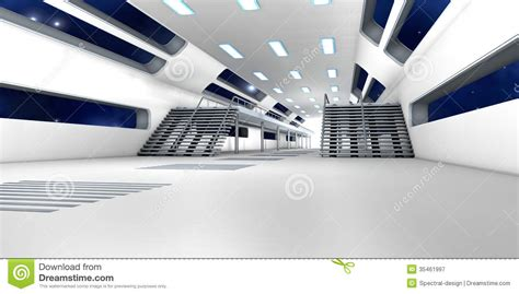 interior space space station interior royalty free stock photography