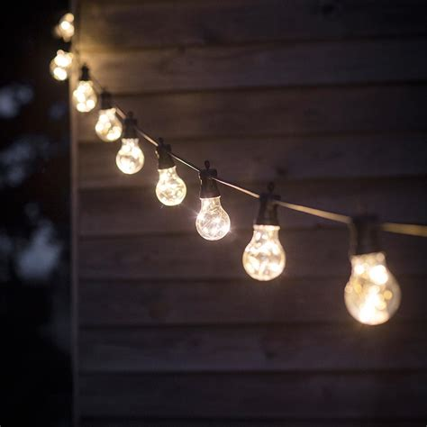 backyard bulb lights led outside lights with 10 or 20 bulbs outdoor lighting