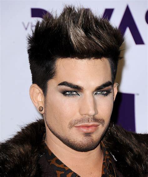 Popular Male Hairstyles Adam Lambert Short Straight | adam lambert short straight casual hairstyle black