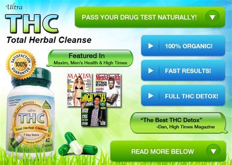 Detox Thc In A Week by 7 Best How Pass A Test For Images On