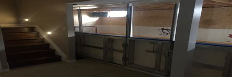 basement rinks basement into rink of your dreams