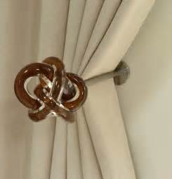 Decorative Drapery Holdbacks Window Treatments Curtain Poles And Tie Backs