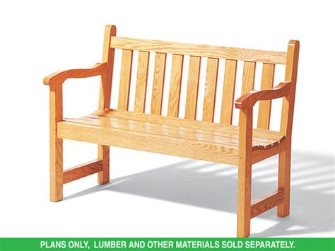 menards outdoor benches plan h097d 0007 english garden bench plans only