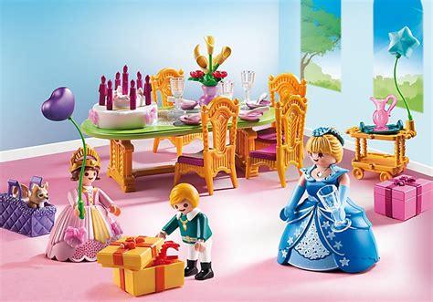 jouet playmobil 6854 salle 224 manger anniversaire princier