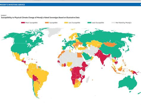 map shows how climate change will hit the economies of the