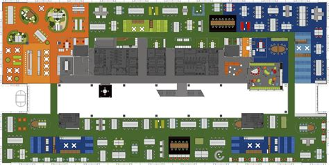 Floor Plan Layouts gallery of macquarie bank clive wilkinson architects 21
