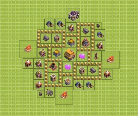 layout kuat th 5 coc a good design for th5