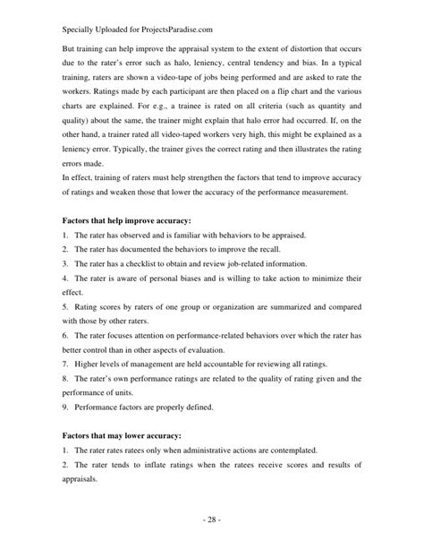 employee review templates 10 free pdf documents download free