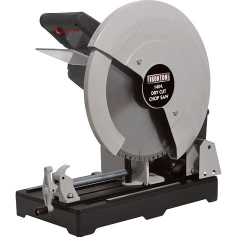 metal chop saw free shipping ironton cut metal saw 14in 15 s 1450 rpm northern tool equipment