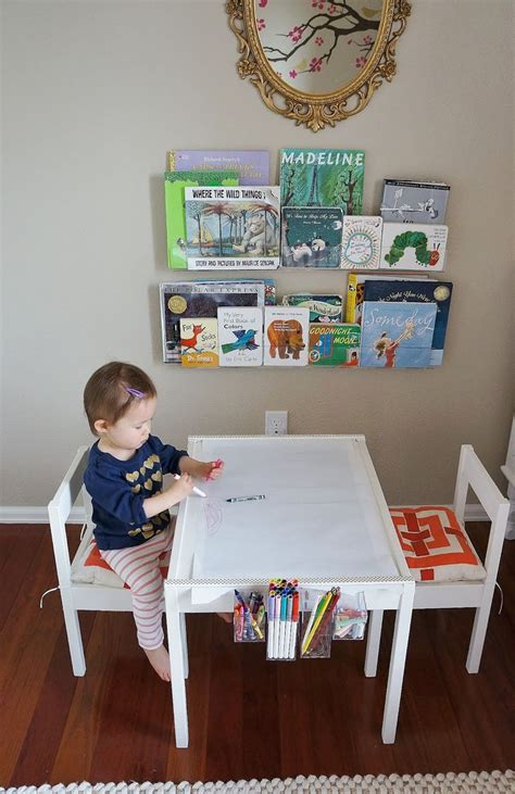 Craft Table With Paper Roll - diy ikea l 228 tt hack craft table with paper roll trim