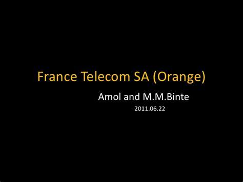Mba Telecom by Telecom Sa Orange Kaist Mba