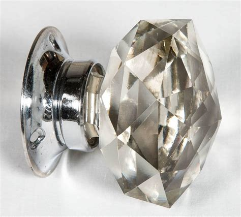 Set Of 20 Pairs Of Faceted Glass Door Knobs For Sale At Glass Door Knobs For Sale