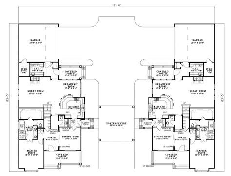 country creek duplex home plan 055d 0865 house plans and rocky creek country duplex plan 055d 0403 house plans