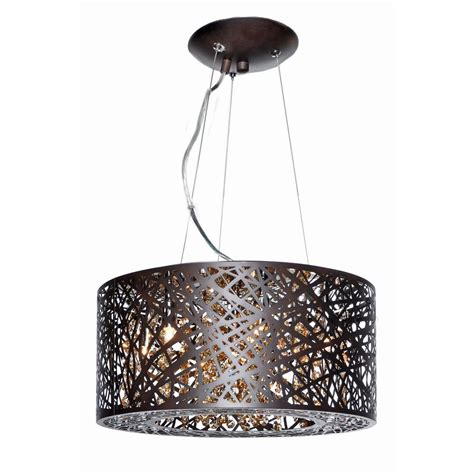 Drum Shade Pendant Light Inca Bronze Pendant Light With Drum Shade E21309 10bz Destination Lighting