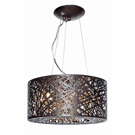 Pendant Light With Drum Shade Inca Bronze Pendant Light With Drum Shade E21309 10bz Destination Lighting