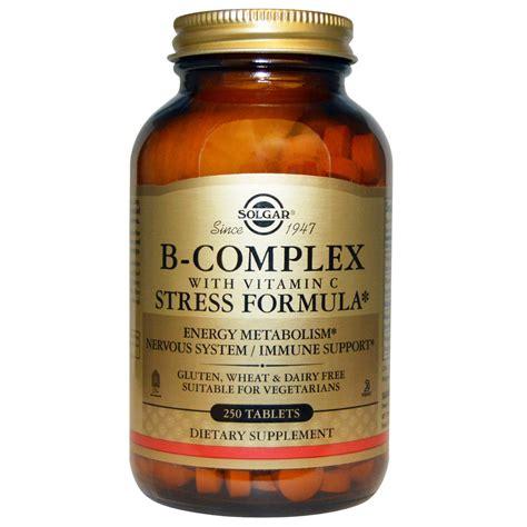 Vitamin B Complex solgar b complex with vitamin c stress formula 250