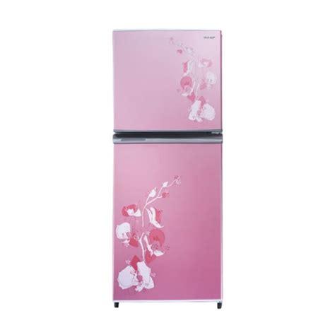 Tutup Freezer Sharp jual sharp sj 315md fp kulkas 2 pintu harga kualitas terjamin blibli