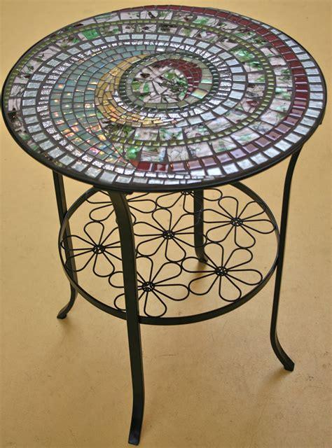 bistro table by fran kremen 2009 seattle mosaic arts