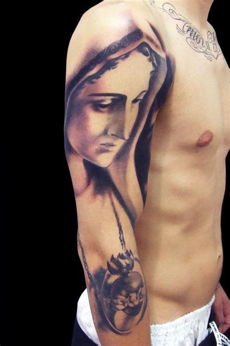 blessed mother tattoo designs the sleeve tattoos