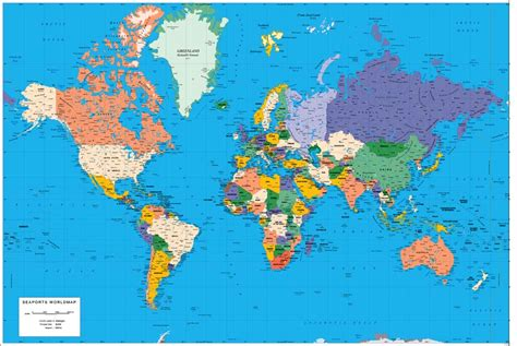 world map with each country name world map political with country names